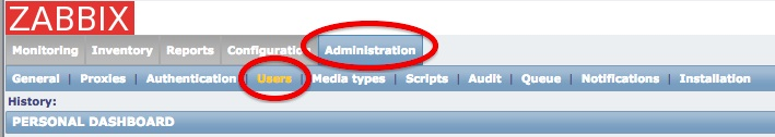 Administration-Users